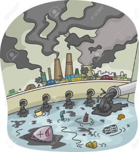 20779972-Illustration-of-Water-and-Air-Pollution-Stock-Illustration-cartoon