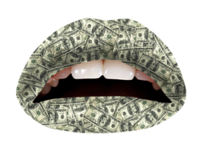 money-violent-lips-temporary-tattoos